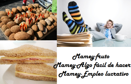 Mamey collage