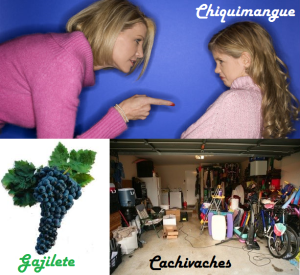Chiquimangue, gajilete, cachivaches